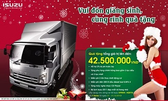 Khuyến mại xe tải ISUZU