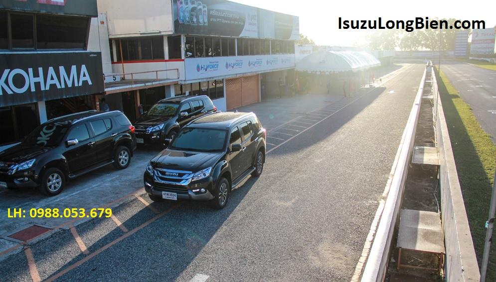Lai thu xe isuzu MU-X 7 cho 2016