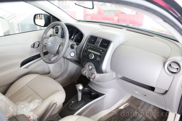 Nội thất Nissan Sunny