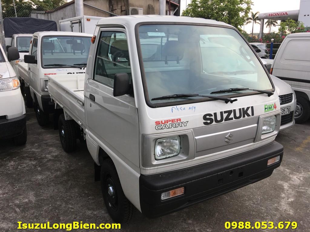 Suzuki 5 tạ 500kg thùng lửng mới euro 4