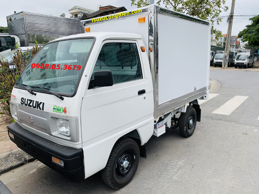 xe tai suzuki 5 ta 500kg thung kin composite