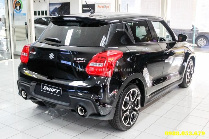 Ngoai that xe Suzuki Swift all new 2019 2020