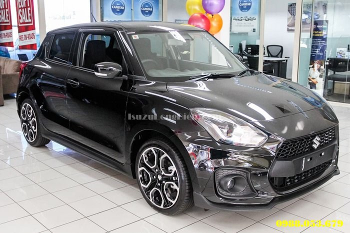 ngoai that xe suzuki swift 2019 2020 mau den