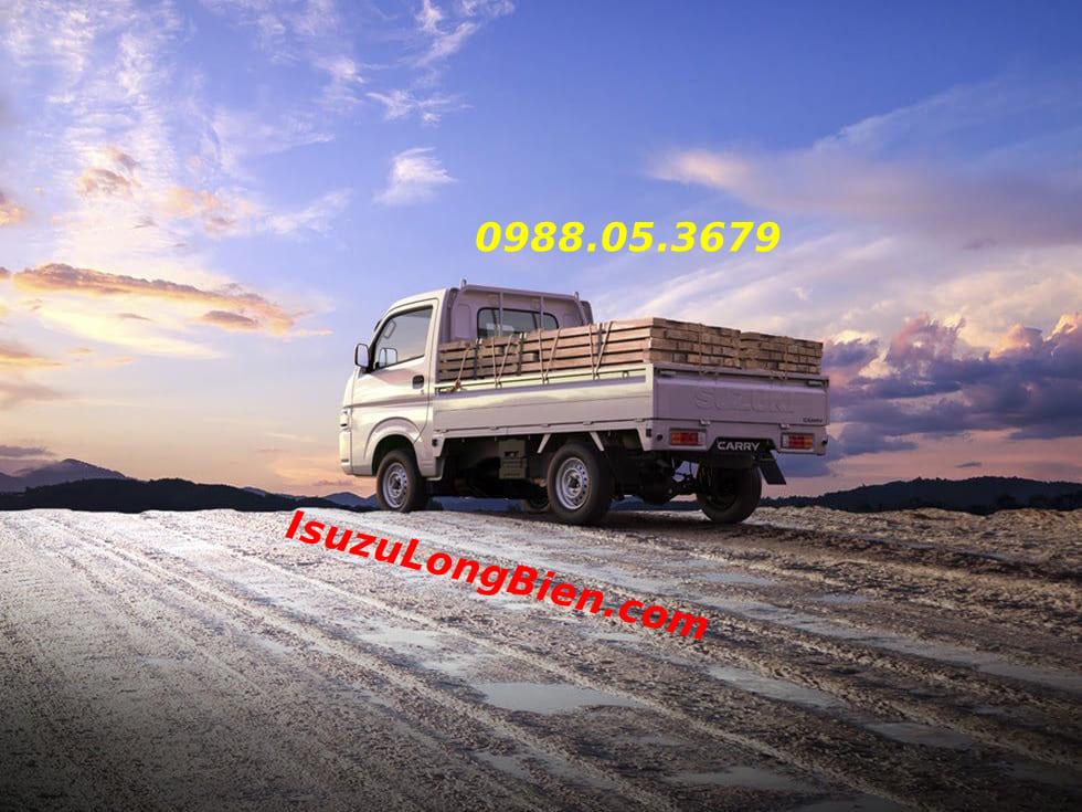 kha nang chuyen cho linh hoat cua xe tai Suzuki Pro 940kg