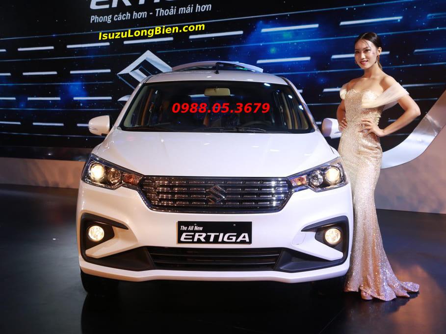 Xe Suzuki 7 cho Ertiga 2020 mau trang so tu dong gia re
