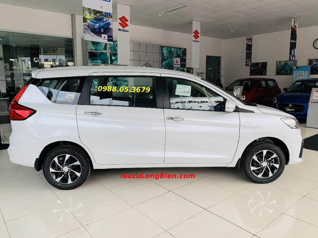 Suzuki Ertiga 7 Cho 2020 GLX AT so tu dong mau trang ngoc trai
