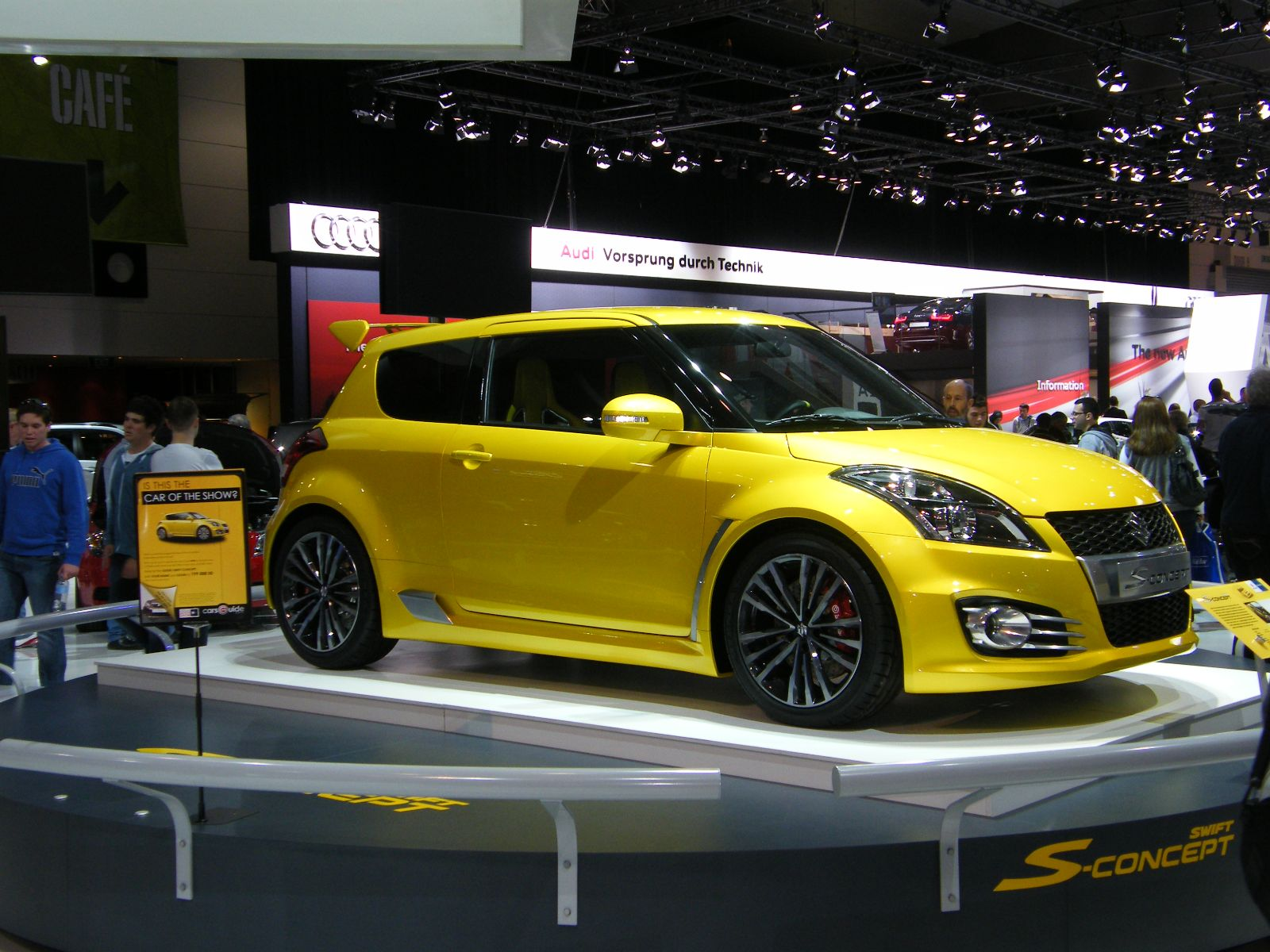 mau suzuki swift do xe