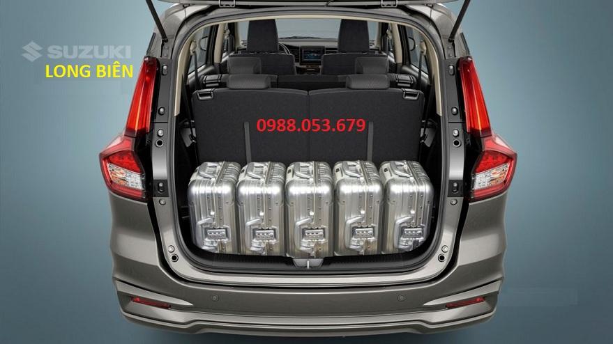 the tich khoang chua do Suzuki 7 cho Ertiga 2020 rong rai