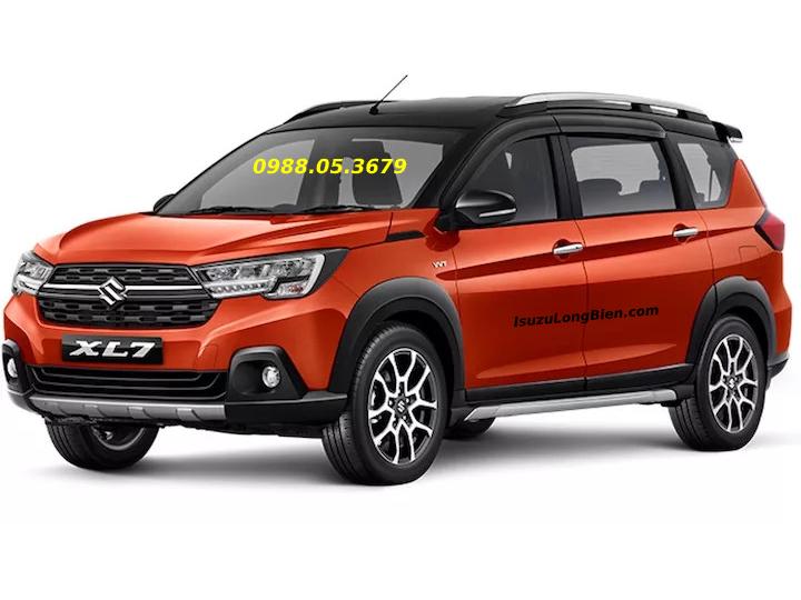 xe Suzuki XL7 7 cho SUV mau do den