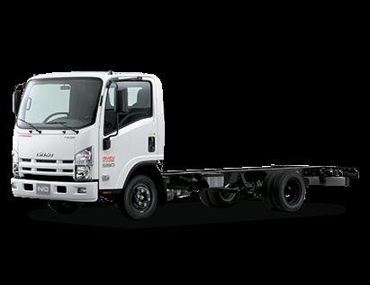 xe tai isuzu 5 tan cabin chassis