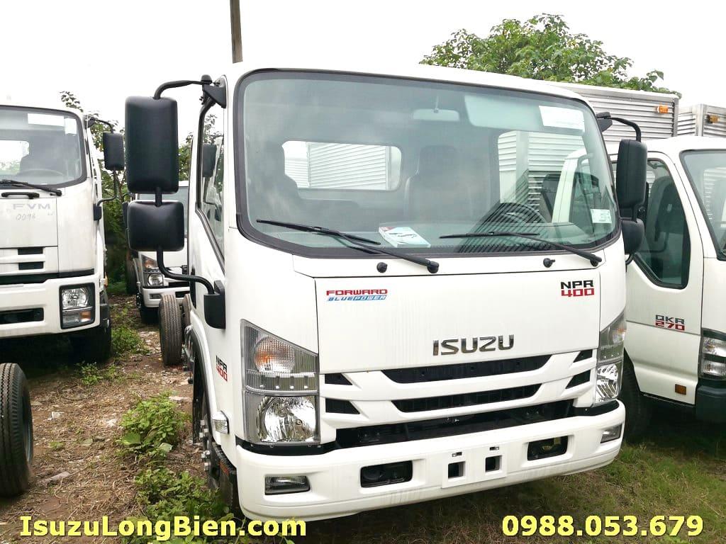 Xe tải Isuzu 3T5 NPR85KE4 tiêu chuẩn Euro 4 mới