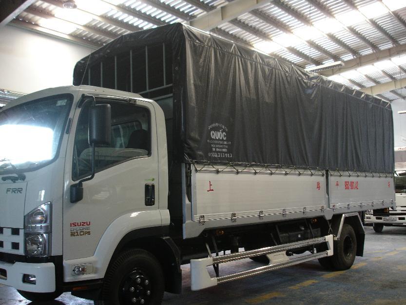 Mua xe tải Isuzu 6,2 tấn ( 6t2 ) thùng bạt giá cực rẻ, giao xe ngay - xe tải Isuzu 6,2 tấn ( 6t2 )