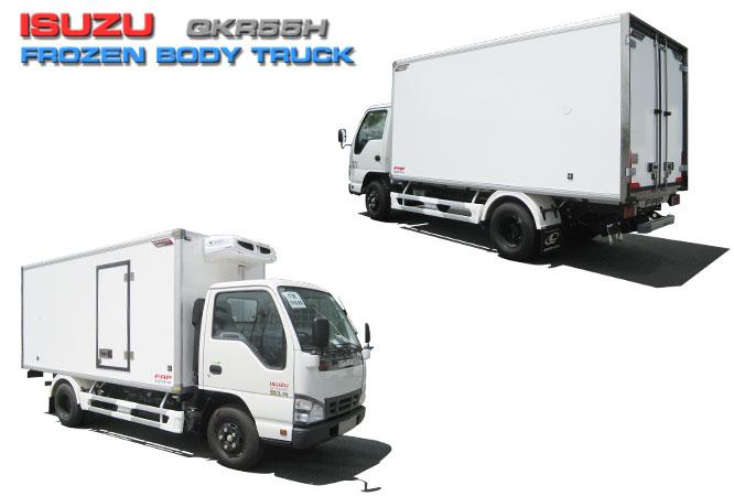 xe tải 1t9 thùng đông lạnh ISUZU