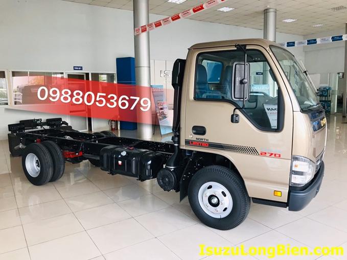 ngoai that xe tai ISUZU QKR 270 phien ban dac biet North Limited