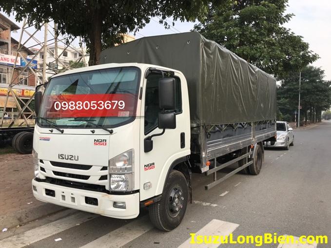 xe tai isuzu 5 tan thung mui bat 6m2 euro 4