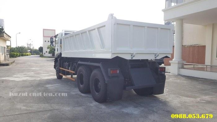 Xe tải tự đổ ISUZU 3 Chân FVZ34QE4