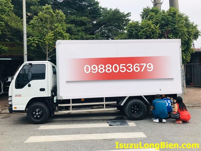 thung kin xe tai ISUZU QKR 270 Euro 4 1T9 2T3 2T8 composite