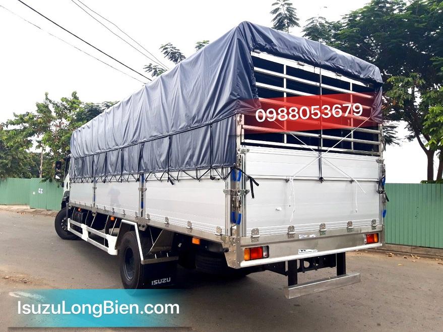 xe tai isuzu 8 tan fvr 900 thung mui bat bung nhom fvr34ue4